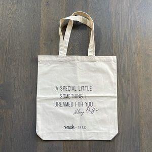 FREE Smash + Tess Hilary Duff Canvas Tote Bag